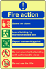 Fire Action - Do Not Use Lifts